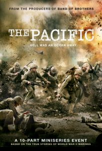 The Pacific dvd box